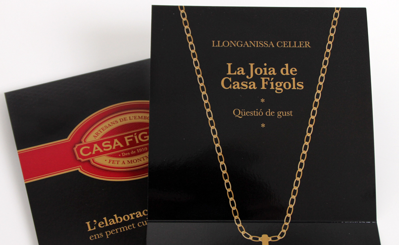 "Packaging ""la Joia de Casa Fígols"""